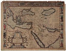 John Speed Map of the Turkish Empire