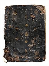 17th Century Bound Spanish Manuscript,
