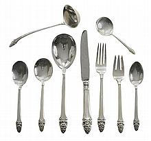 Gorham Sovereign Sterling Flatware, 58