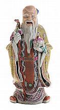 [Famille Rose] Porcelain Figure