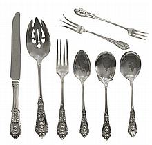 Wallace Rose Point Sterling Flatware,
