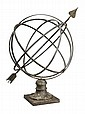 Iron and Brass Armillary Sphere