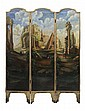 Italian Baroque Style Painted and