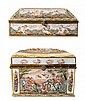 Two Capodimonte Porcelain Boxes