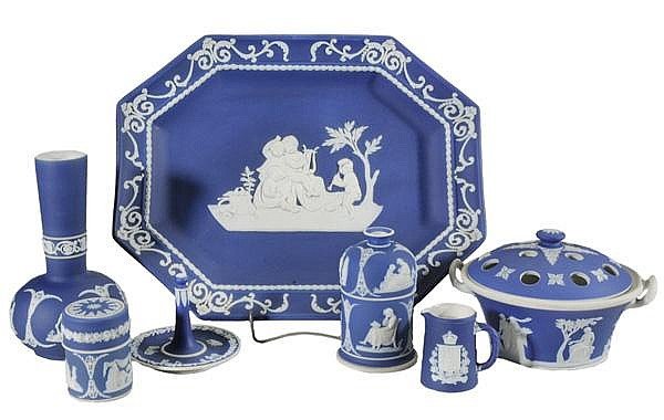 Collection of Thirty-Two Wedgwood