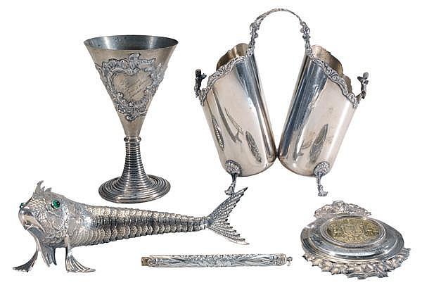 Five Silver Items