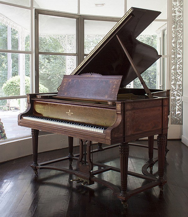 Fine Inlaid Steinway Grand Piano