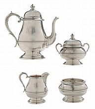Four-Piece Sterling Tea Service