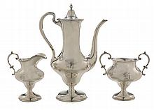 Three-Piece Sterling Coffee Service
