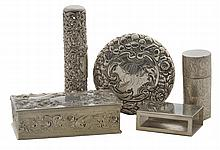 Seventeen Sterling Boxes