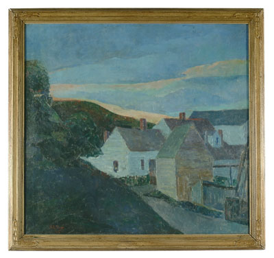 Landscape by Harry Hutchison Shaw