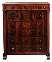 Classical Style Figured Mahogany