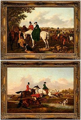 William Henry Buck (Louisiana, 1840-1888), Two Fox