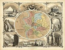 [Atlases]. Johnston, A.K. A School Atlas of Classi