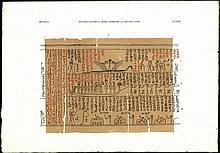 [Egypt]. Pleyte, W. (ed.). Papyrus funéraire hiéro