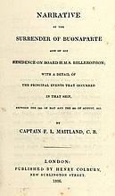 [France. Napoléon]. Maitland, F.L. Narrative of th