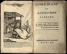 [Belgium]. (Vervier, J.B.). Livre blanc ou revolut