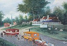Lucas, J. (20th cent.). (Caravans of