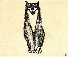 Melle (= M.J. Oldeboerrigter) (1908-1976). (Cat).