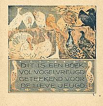 Hoytema, Th. van (1863-1917). Vogelvreugd. Amst.,