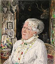 Kamerlingh Onnes, H. (1893-1985). (Portrait of an