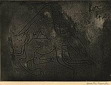 Heusden, W.B. van (1896-1982). (Flying dragon). Et
