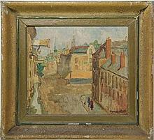 Beerendonk, T.H.J. (1905-1979). (Bird's eye street