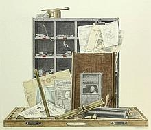 Goldsteen, A. (1908-1985). (Trompe l'oeil with pri