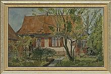 Kat, O.B. de (1907-1995). (Home of the artist at U
