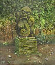 Kertonegoro, M. (b.1955). (Statue in Monkey Forest