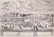 [Skating]. Tieleman van der Horst (18th cent.).