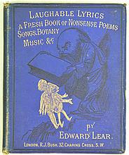 Lear, E. Laughable Lyrics. A Fourth Book of Nonsense Poems, Songs, Botany,