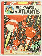 [Comics]. Jacobs, E.P. Het raadsel van Atlantis. Brussel, Lombard Uitgaven,