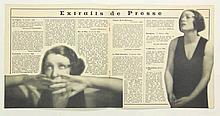 [Photography]. Béraud, H. Damia. N.pl. (Paris), An. Girard, n.d. (±1933), (