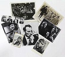 [Doyle, A. Conan]. Sherlock Holmes. Lot of 35 photographic moviestills and