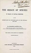 Darwin, C. On the Origin of Species by Means of Natural Selection, or the P