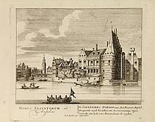 [Amsterdam and surroundings]. Schenk, P. Afbeeldinge der voornaamste gebouw