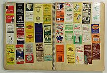 [Commercial art]. (Matchbook covers). Collection of over 1000 matchbook cov