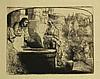Rembrandt van Rijn (1606-1669). Christ and the woman of Samaria among ruins,  Rembrandt, €400