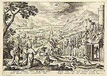 Collaert, A. (±1560-1618). The Parable of the Unjust Husbandmen (October).