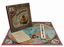 [Games and toys]. S.A. Andrée's Noordpoolvaart. Berlin, Sala, n.d. (±1900), fold. chromolithogr. boa