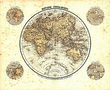 [Atlases]. Meyer, J. (Illustrationen zu Meyer's neuem Konversations-Lexikon). Hildburghausen, Verlag