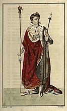 [France]. Cérémonial de l'Empire Français (...). Par L.-I. P***. Paris, À la Librairie Économique, 1