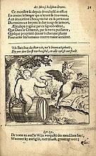 [Emblemata]. Vondel, J. van den. Theatre du monde, contenant divers Excellens tableaux de la vie hum