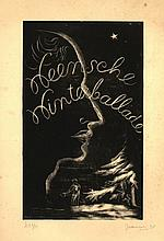 Bieruma Oosting, A.J.W. (1898-1994). Weensche Winterballade. Five lithographs (incl. title), mainly