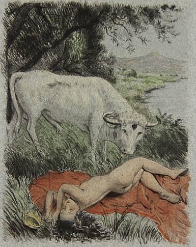 [Bécat, P.-É.]. Ovidius Naso, P. l'Art d'aimer.