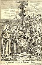 Lefebre, V. (1642-1682). Lot of 13 etchings, 15x23,7 to 41,8x27 cm., all after designs by painters o