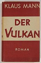 [Exil]. Mann, K. Der Vulkan. Roman unter