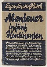 [Exil]. Kisch, E.E. Abenteuer in fünf Kontinenten.