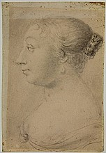 Anonymous (17th cent.). (Portrait of a lady en